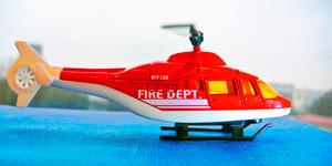 Игрушки для мальчиков.  Пожарный вертолёт.